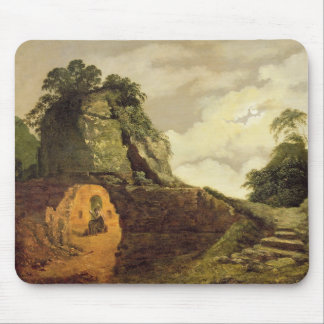 Virgil's Tomb by Moonlight with Silius Italicus, 1 Mouse Pad
