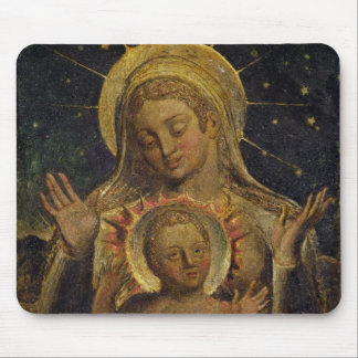 Virgin and Child, 1825 (tempera on panel) Mouse Pad