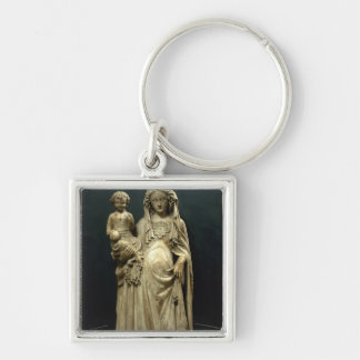 Virgin and Child, c.1375 (alabaster) Key Chain