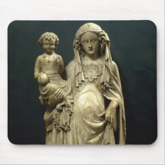 Virgin and Child, c.1375 (alabaster) Mouse Pad