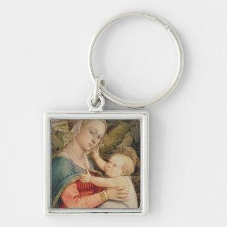 Virgin and Child, c.1465 Keychain