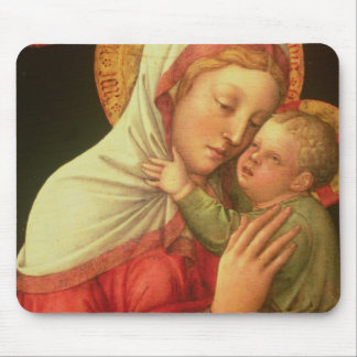 Virgin and Child, c.1465 (oil on panel) Mouse Pad