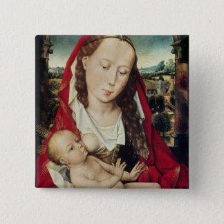 Virgin and Child, c.1467-70 15 Cm Square Badge