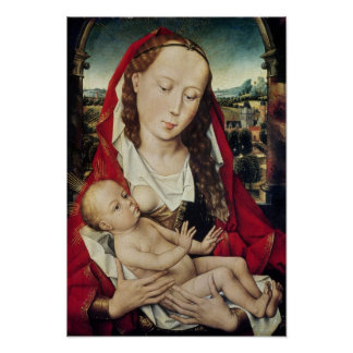 Virgin and Child, c.1467-70 Poster