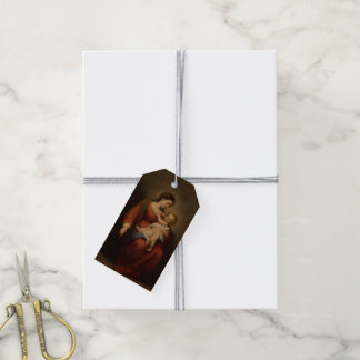 Virgin and Child Gift Tags
