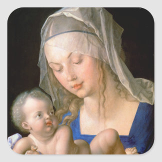 Virgin and child holding a half-eaten pear, 1512 stickers