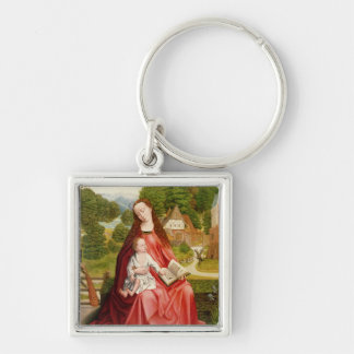 Virgin and Child in a Garden Key Chains