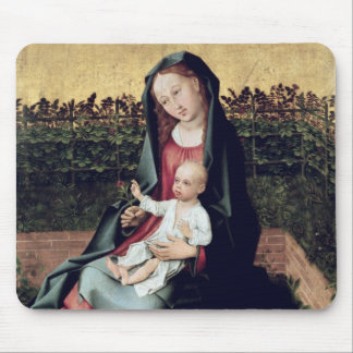 Virgin and Child in the Small Garden Mouse Pad