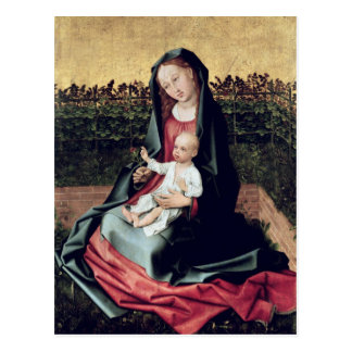 Virgin and Child in the Small Garden Postcard