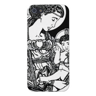 Virgin and Child iPhone 5 Case