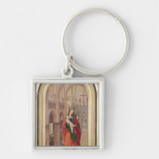 Virgin and Child Key Chains