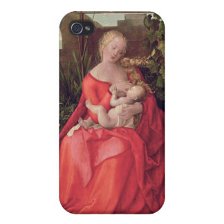 Virgin and Child 'Madonna with the Iris', 1508 Cases For iPhone 4