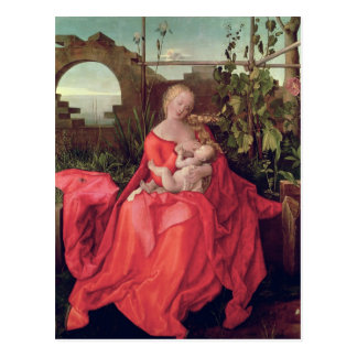 Virgin and Child 'Madonna with the Iris', 1508 Postcard