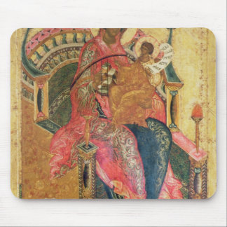 Virgin and Child, Moscow School Mouse Pad