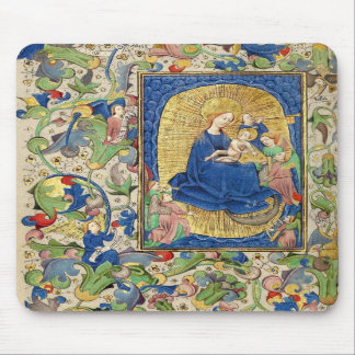 Virgin and Child Mouse Pads