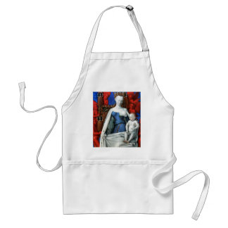 Virgin and Child surrounded by Angels - Fouquet Standard Apron