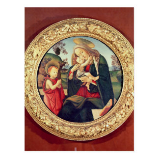 Virgin and Child with John the Baptist Postcard
