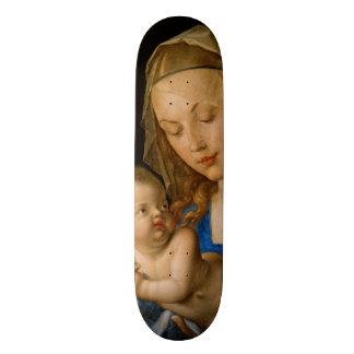 Virgin and Child with Pear by Albrecht Durer 21.6 Cm Skateboard Deck
