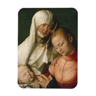 Virgin and Child with Saint Anne by Durer Flexible Magnets