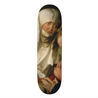 Virgin and Child with Saint Anne by Durer Skate Board Decks