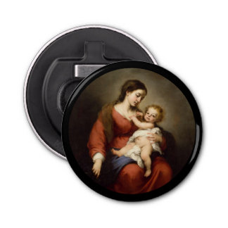 Virgin and Christ Child Bottle Opener