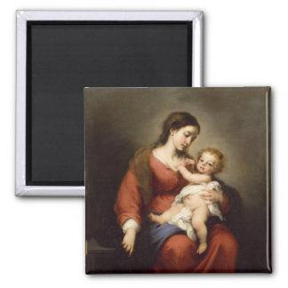 Virgin and Christ Child Magnet