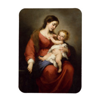 Virgin and Christ Child Magnet