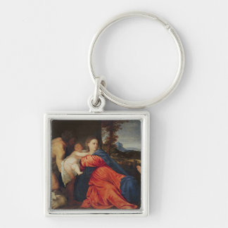 Virgin and Infant Keychain