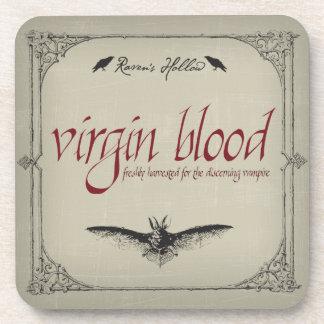 Virgin Blood Halloween Coaster