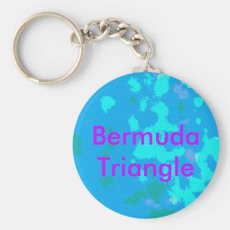 Virgin Blue Basic Round Button Key Ring