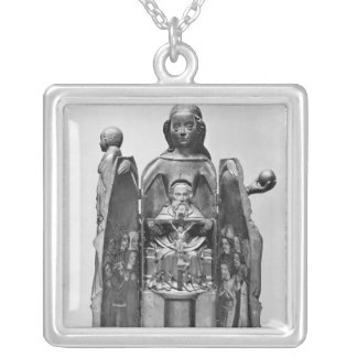 Virgin , early 15th century personalized necklace