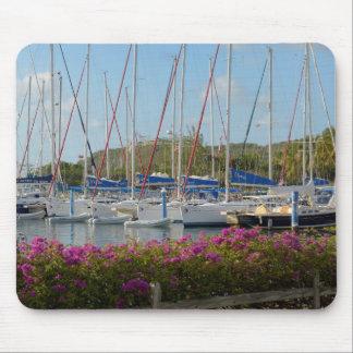 Virgin Gorda Yacht Harbor Mouse Pad