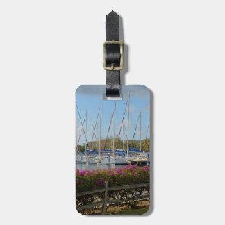 Virgin Gorda Yacht Harbor Travel Bag Tags