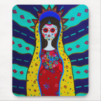 Virgin Guadalupe Mouse Pad