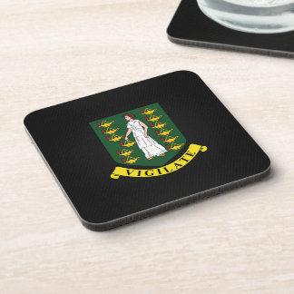Virgin Islander coat of arms Coaster
