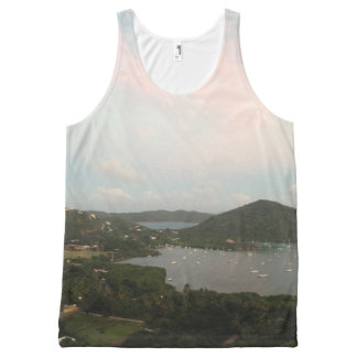 Virgin Islands All-Over Print Singlet