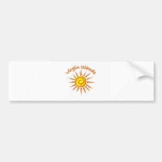 Virgin Islands Bumper Sticker