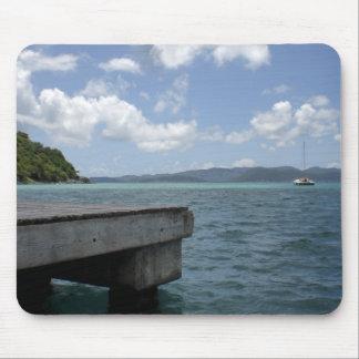 Virgin Islands dock Mouse Pad