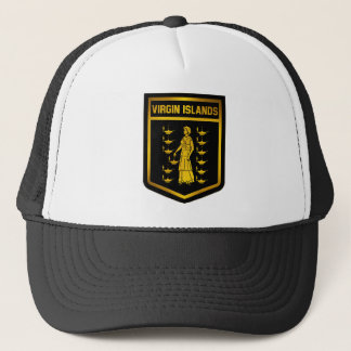 Virgin Islands Emblem Trucker Hat