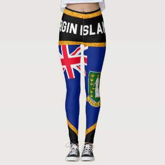 Virgin Islands Flag Leggings