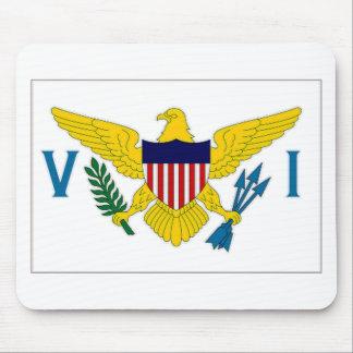 Virgin Islands Flag Mousepads