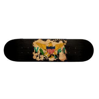 Virgin Islands Flag Skate Boards