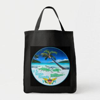 VIRGIN ISLANDS GROCERY TOTE BAG