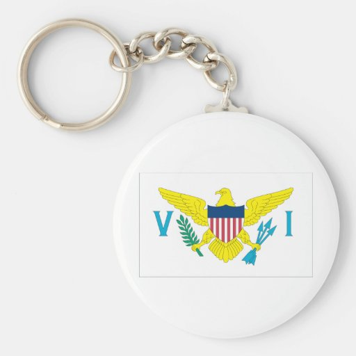 Virgin Islands Key Chains