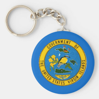 Virgin Islands Seal Keychain
