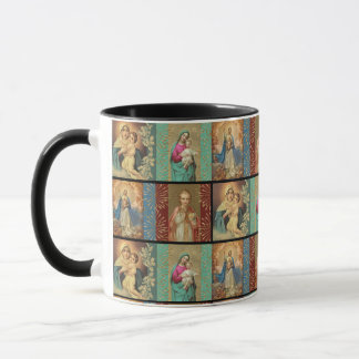 Virgin Madonna Mary Infant Jesus Mug