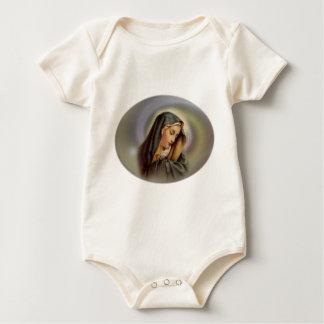 Virgin Mary 2 Baby Bodysuit