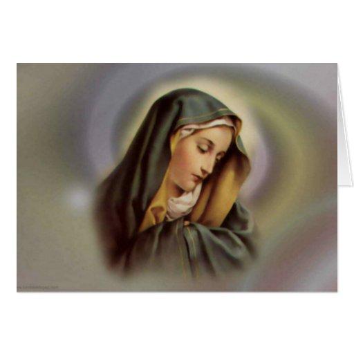Virgin Mary 2 Card