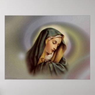 Virgin Mary 2 Print