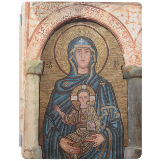 Virgin Mary And Jesus Mosaic iPad Cover